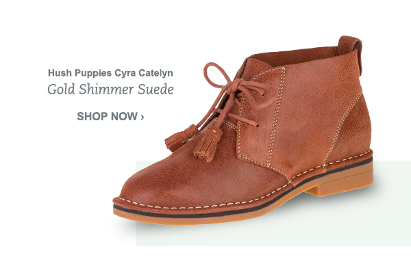 Hush Puppies Cyra Catelyn - Gold