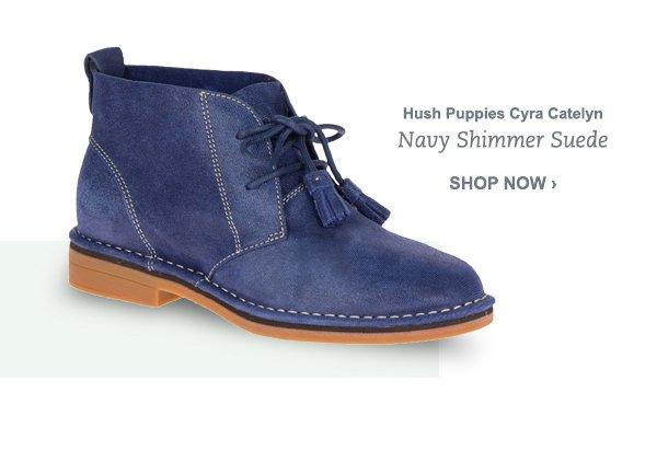 Hush Puppies Cyra Catelyn - Navy