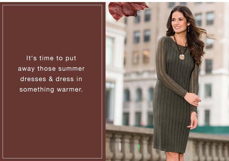 Sweaters: Dresses