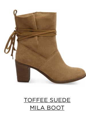 Toffee Suede Mila Boot