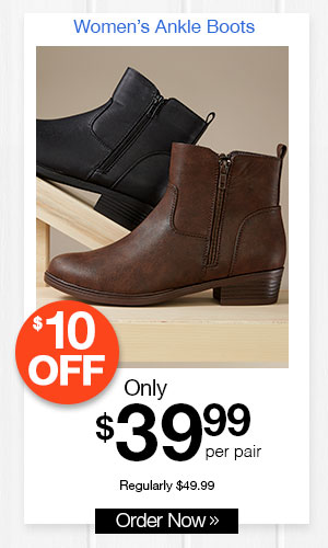 Goldtoe Double-Zip Ankle Boots