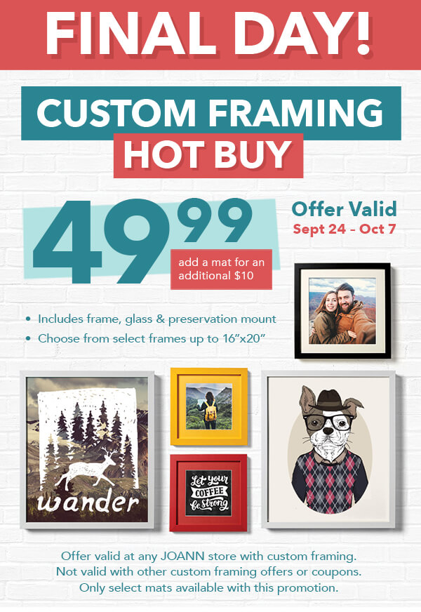 Jo-Ann Fabric and Craft Store: Crazy Good Deals + TWO 50% off 1 ...