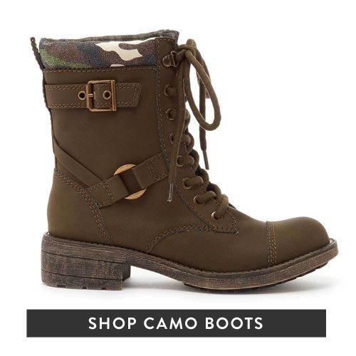 Shop Camo Boots 25% Off