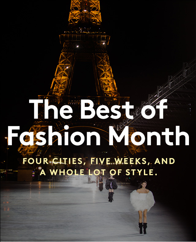 From NYC to Paris, our insider highlights from a month of trend-setting fashion.
