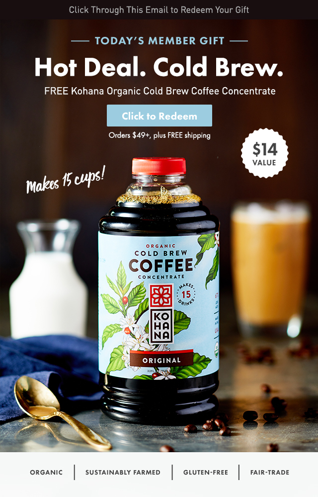 Thrive Market: FREE gift: Calling all coffee lovers! ($14 value ...