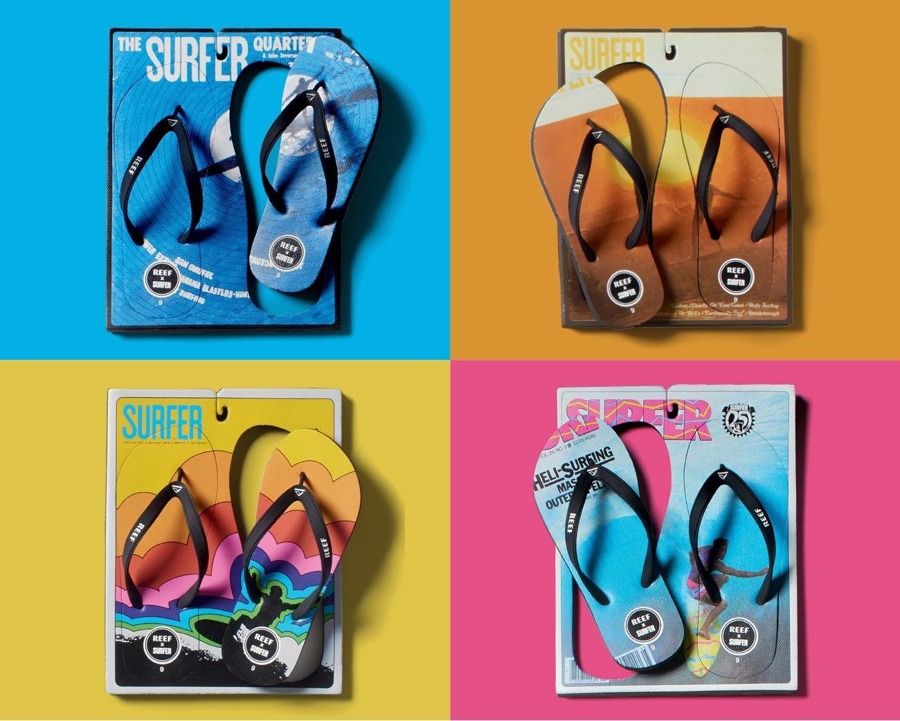 Reef x surfer