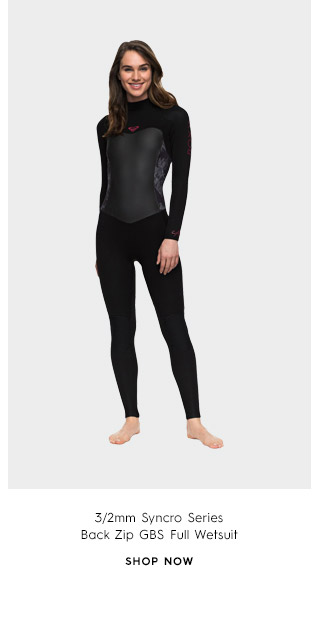 Product 1 - 3/2mm Syncro Series Back Zip GBS Full Wetsuit