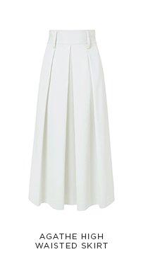 Agathe High Waisted Skirt