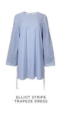 Elliot Stripe Trapeze Dress