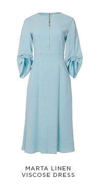 Marta Linen Viscose Dress