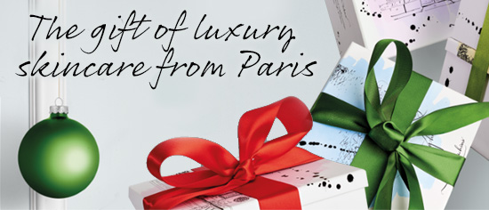The gift of luxury skincare from Paris