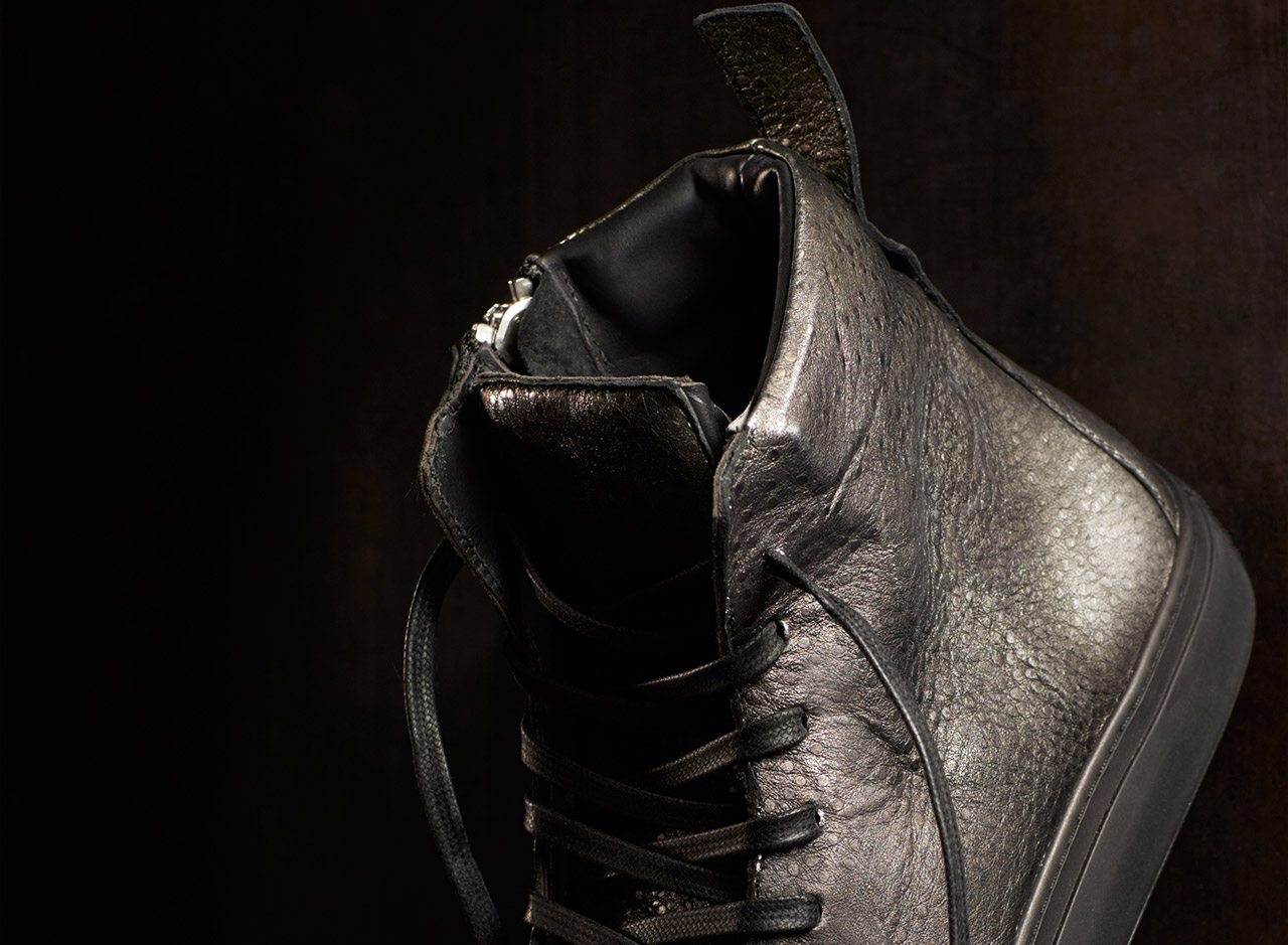 The Limited Edition Embossed Reed Sneaker