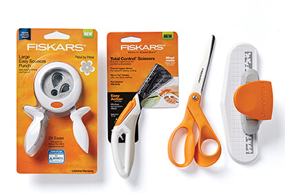 Fiskars Cutting Tools and Punches.
