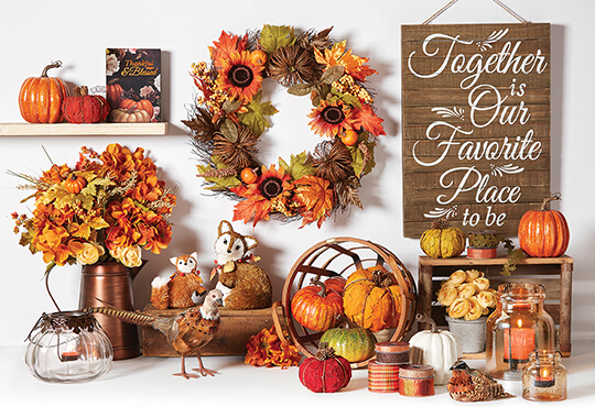Fall Floral and Decor.
