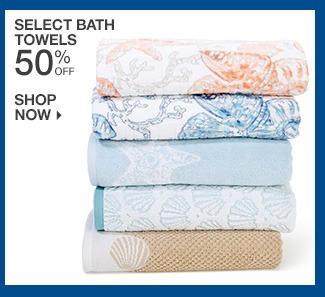 Shop 50% Off Select Bath Towels