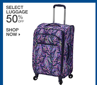 Shop 50% Off Select Luggage