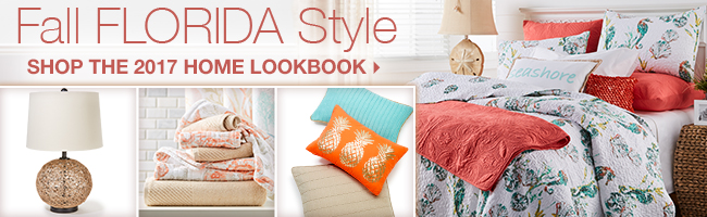 Fall Florida Style | Shop the 2017 Home Lookbook