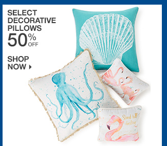 Shop 50% Off Select Decorative Pillows