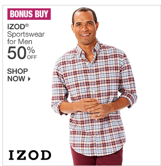 Shop 50% Off IZOD for Men