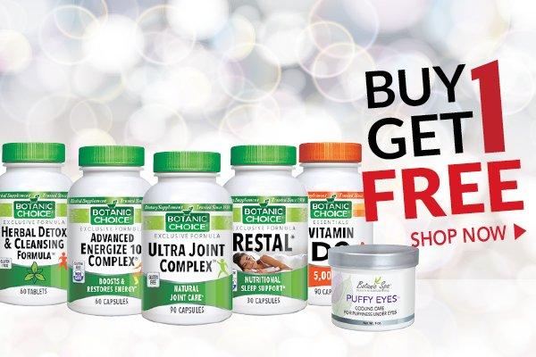 Shop Buy 1 Get 1 Free at Botanic Choice
