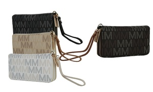 MKF Collection Hofstra M Signature Wristlet by Mia K.Farrow