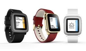 Pebble Time Smartwatch for iPhone & Android (New/Refurb./Mfr. Refurb.)