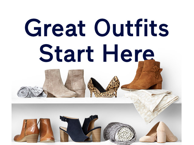 Great Outfits Start Here