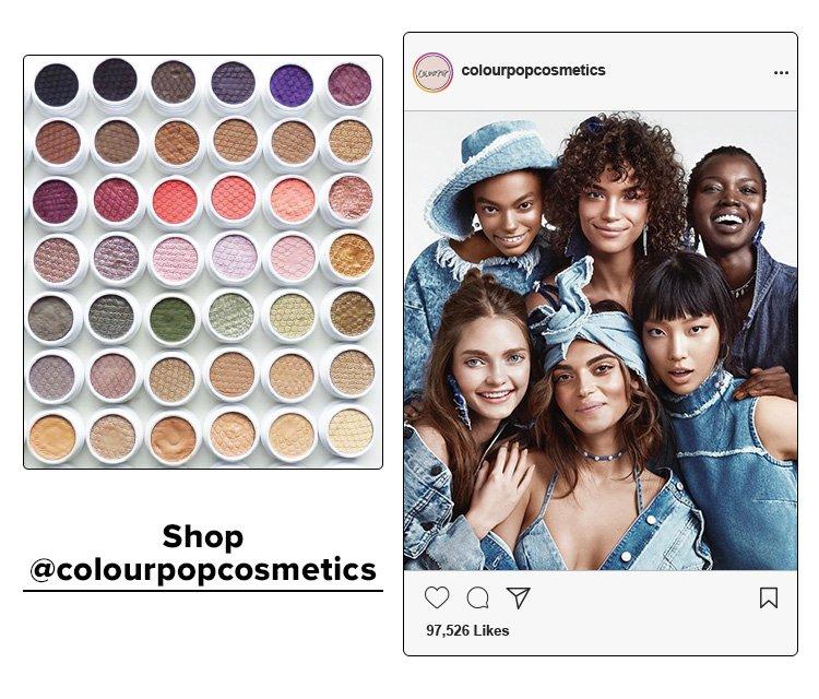 Shop @colourpopcosmetics