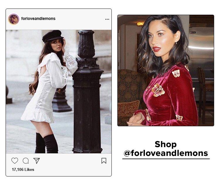 Shop @forloveandlemons
