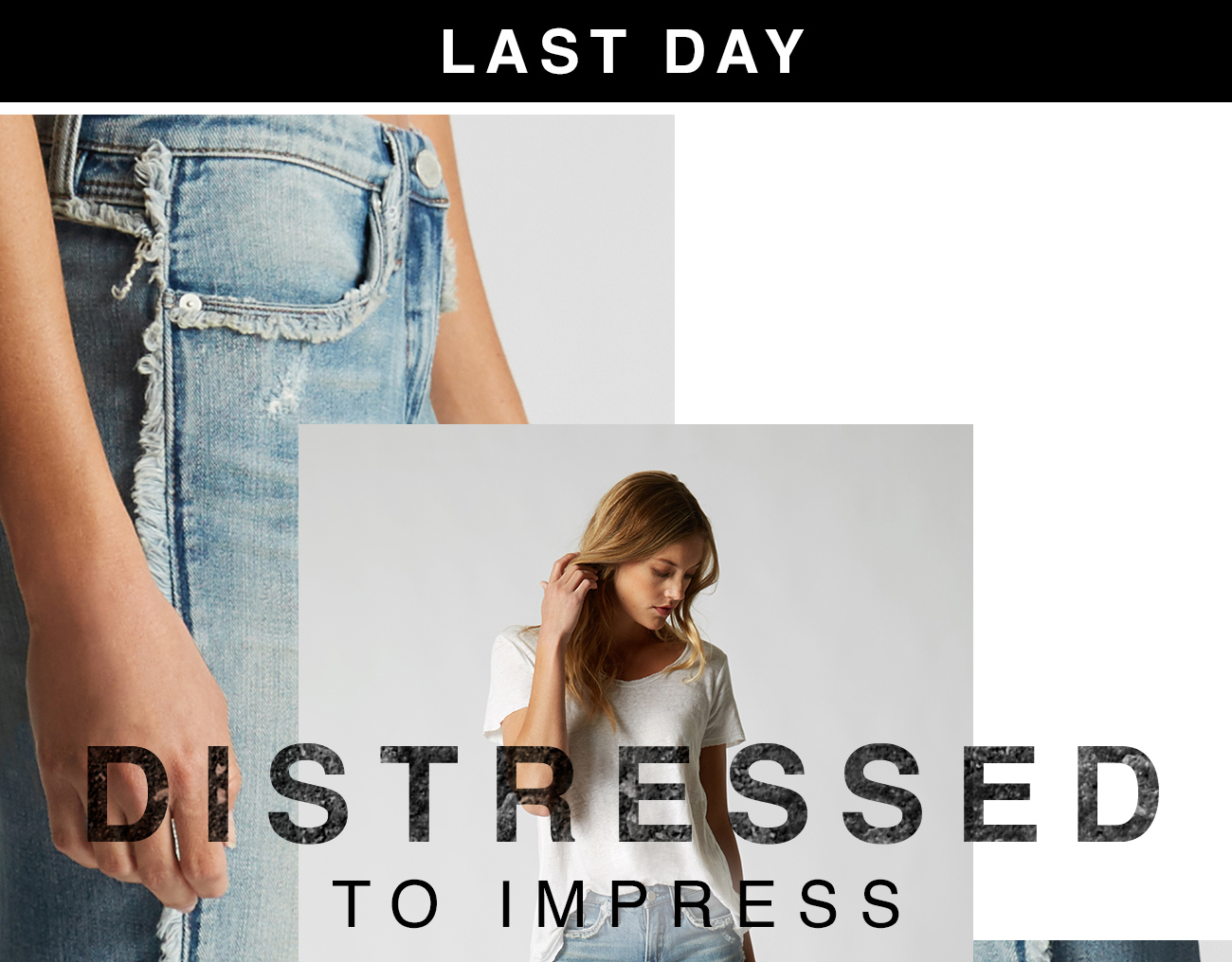 Last Day: Distressed to Impress