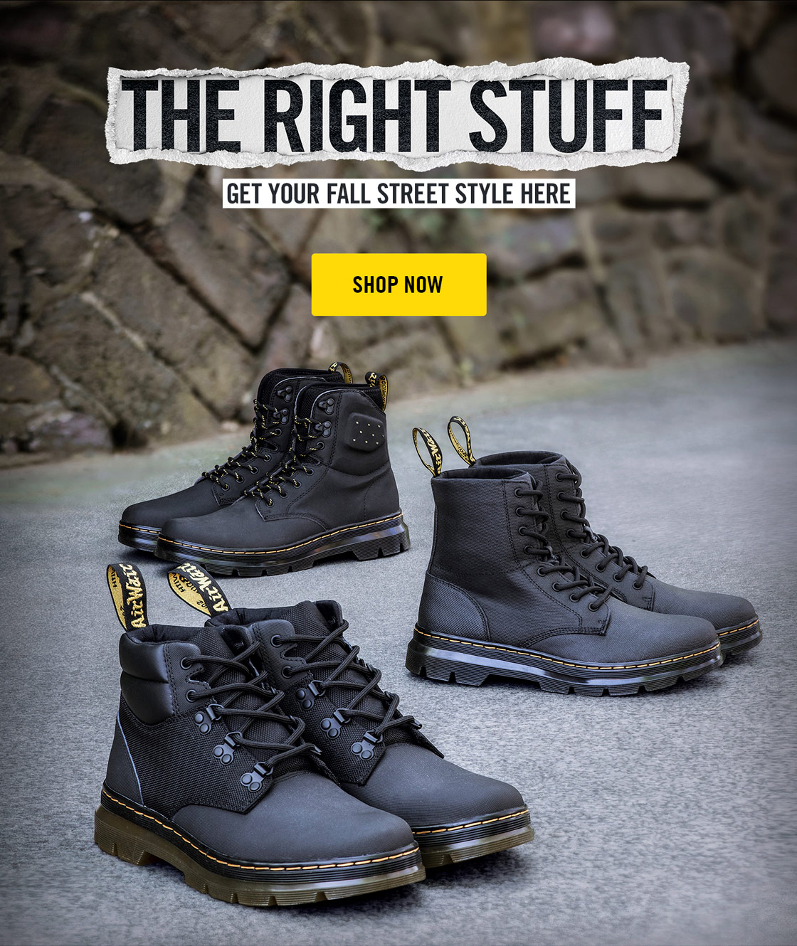 d6ca6907a3f Dr. Martens: Fresh, rugged street style | Milled