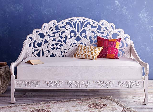 Zarah Carved Daybed ›