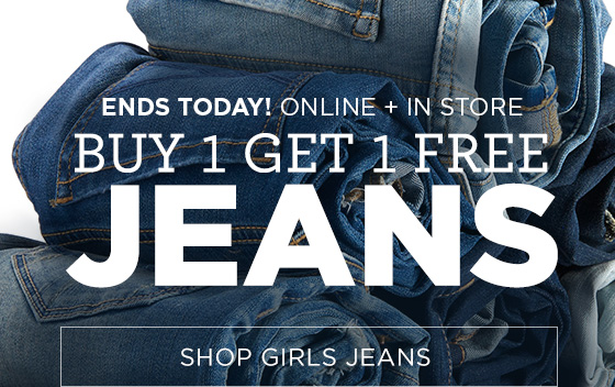 Buy One Get One Free Shop Girls Jeans