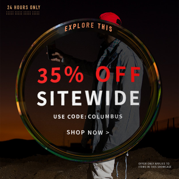 Save 35% Sitewide