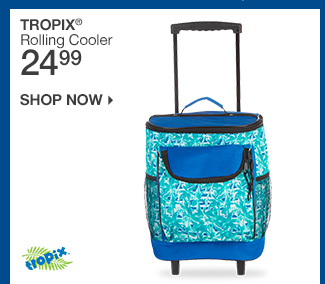 Shop 24.99 Tropix Rolling Cooler