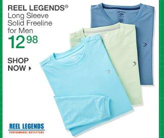 Shop 12.98 Reel Legends Long Sleeve Freeline