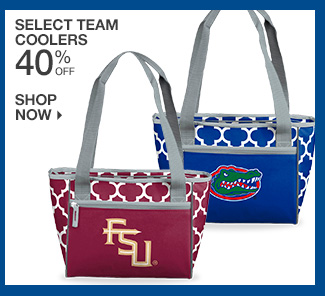 Shop 40% Off Select Team Coolers