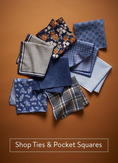 Shop Ties & Pocket Squares