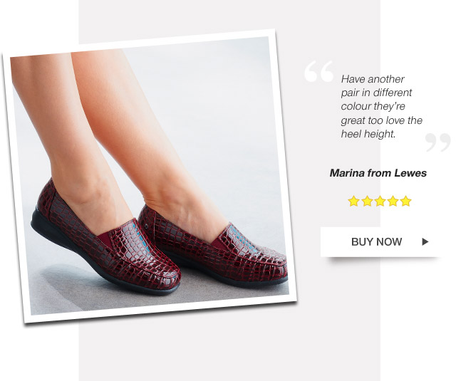 Have another pair in different colour they're great too love the heel height. Marina from Lewes - Buy Now