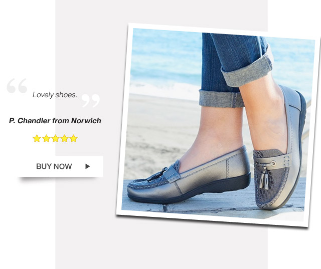 Lovely shoes. P. Chandler from Norwich- Buy Now