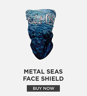 Metal Seas Face Shield