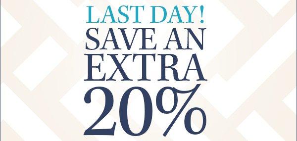 Save An Extra 20%