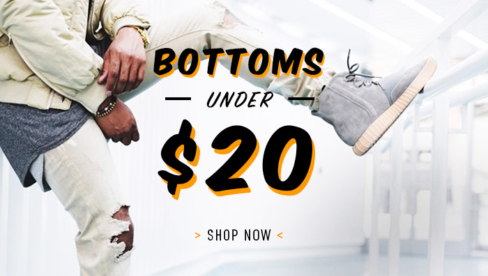 Bottoms Under 20