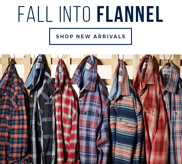 FALL INTO FLANNEL - SHOP NEW ARRIVALS