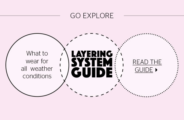GO Explore - Layering System Guide