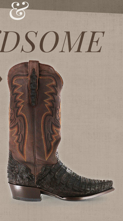 Shop Men's Exotic Boots »