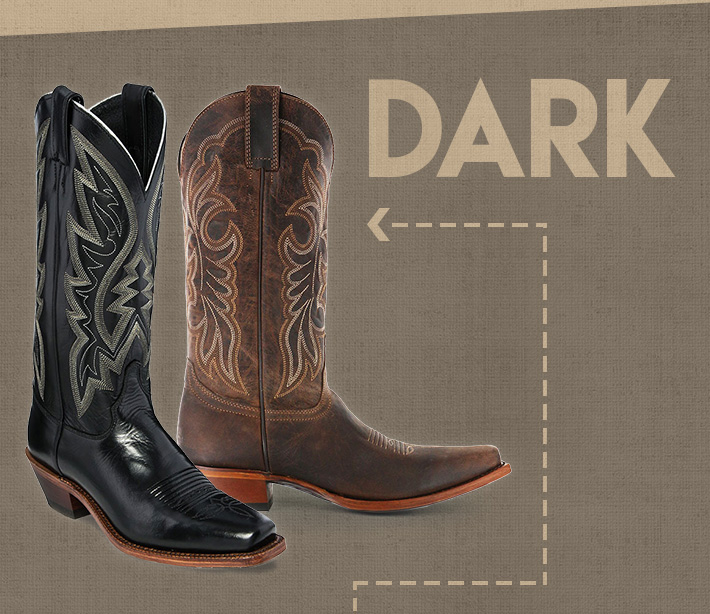 Shop Black and Brown Boots »