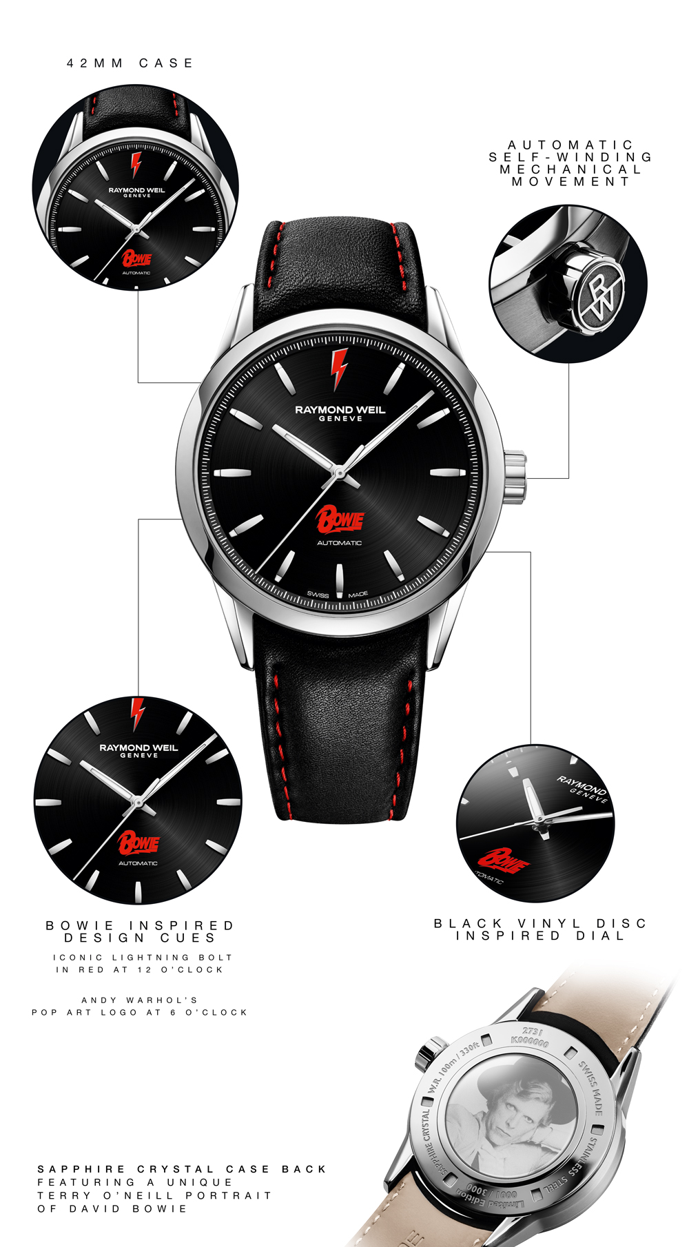 Raymond Weil: Exclusive: The Limited Edition David Bowie Watch is ...