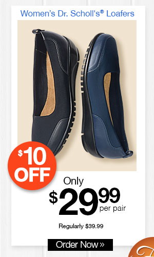 Dr. Scholl's Stretch Fabric Loafers