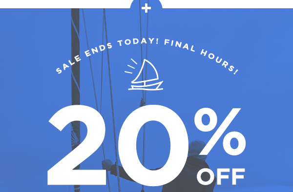 20% OFF COLUMBUS DAY SALE